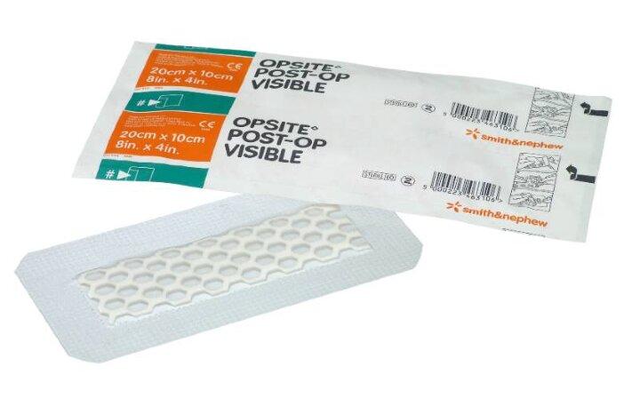 OpSite Post-Op Visible / ОпСайт Пост-Оп Визибл - Пленочная абсорбирующая повязка для послеоперационных и острых ран.